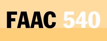 Faac 540 Bpr Инструкция - фото 11