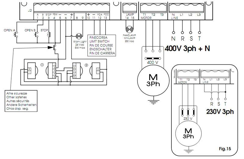 FAAC 884 - схема